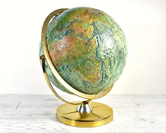 70s World Globe // $65.00