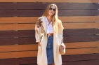 80s Jacket from Moth Oddities. Purse from Rewind Vintage. 80s denim skirt from Tandem Vintage